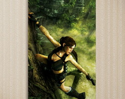 Quadro Tomb Raider - Games 30x44 cm