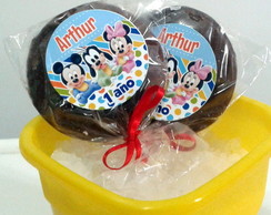 Pirulitos de chocolate - Baby Mickey