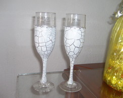 Taça decorada