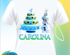 Camiseta Frozen Fever - Olaf