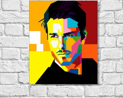 Placa Decorativa POP ART - TOM