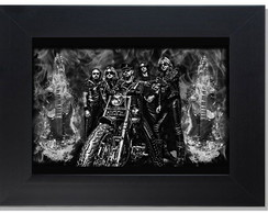 **QUADRO DECORATIVO - JUDAS PRIEST