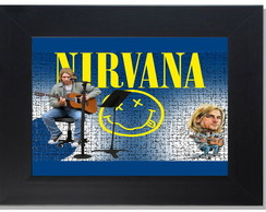 QUADRO DECORATIVO - NIRVANA 3