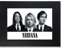 QUADRO DECORATIVO - NIRVANA 4