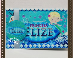 Convite 3d Pop Up Frozen