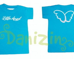 T-Shirt Infantil  Tam 1 ano LITTLE ANGEL