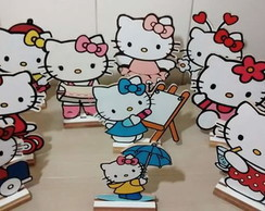 Display Hello kitty 30 cm, com 10 peças