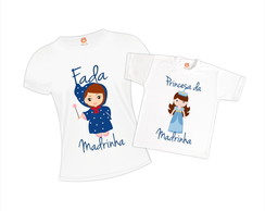 Kit Camisetas Fada Madrinha