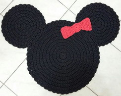 Tapete Sombra do Minnie em Crochê