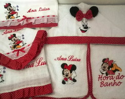 KIT BORDADO MINNIE