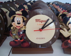 Relogio mickey Safari