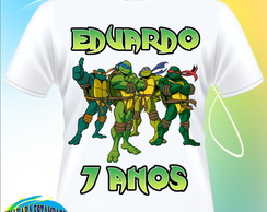 Camiseta Tartarugas Ninja/Turtles