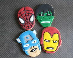 Cookie super herois e avengers