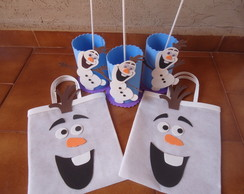 kit de festa Olaf- frozen