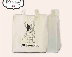 Arte Ecobag - I love Frenchie