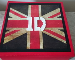 "Caixa Decorada ""UK-One Direction"""
