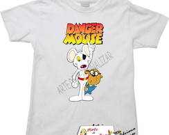 Camiseta Infantil Danger Mouse.