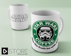 Caneca Star Wars Coffee Stormtrooper