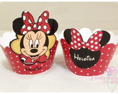 Wrapper para cupcake Minnie