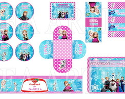 Arte Kit Digital - Frozen