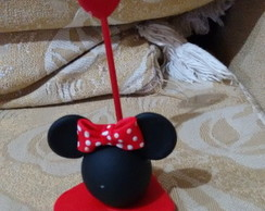 porta recado minnie de biscuit