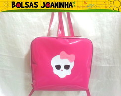 MONSTER HIGH MOCHILA PINK