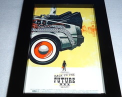 Moldura Back to the Future III