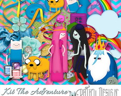 Kit Scrapbook digital The Adventure Time