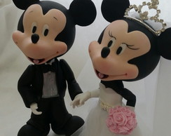 Noivos Mickey e Minnie