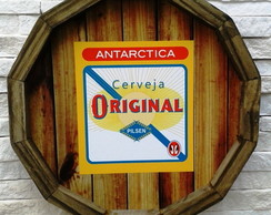 Placa de Cerveja Decorativa Original