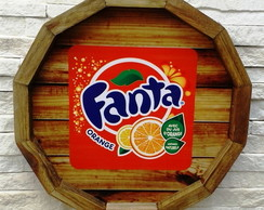 Placa de Refri Decorativa Fanta