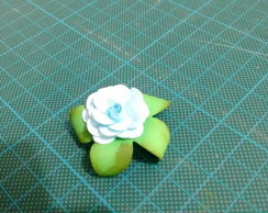 Mini flor de papel AZUL