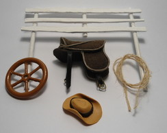 Kit de Miniaturas - Country Simples