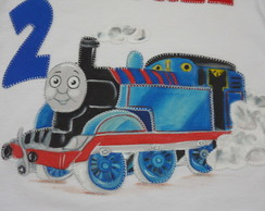 Camiseta - Thomas -trem