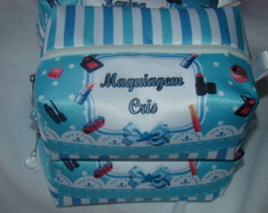 Necessaire Box Azul Tiffany