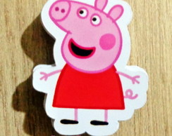 Aplique Peppa e George Pig
