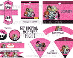 Kit Digital Monster High 1