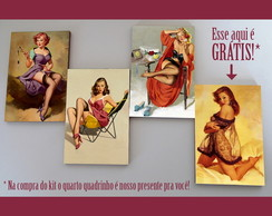 "Kit quadros pin-ups ""Reveladoras"""