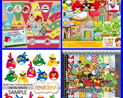 Scrapbook Digital Angry Birds