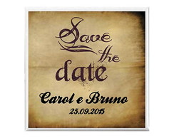 "Imã ""save the date"""