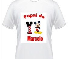 Camisa Papai do Mickey