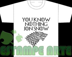Camiseta Game Of Thrones (frases)