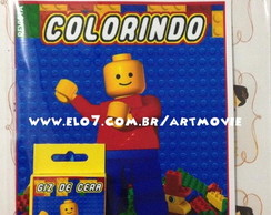 kit de colorir Lego