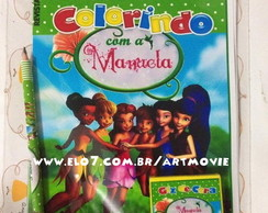 Kit de colorir Tinker Bell e Peter Pan