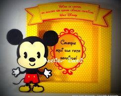 Porta retrato minnie e mickey