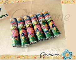 Rotulo de chocolate Baton backyardigans