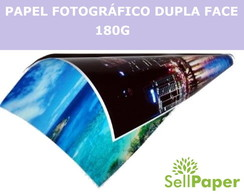 Papel Fotográfico Glossy Dupla Face 180g