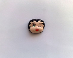 Apliques Betty Boop em Biscuit