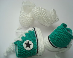 kit sapatilha +tenis imitando all star