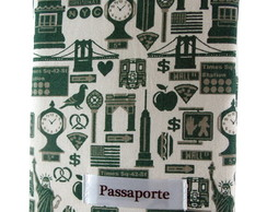 Porta Passaporte New York
